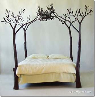 white tree branch bed frame | tree branch | {Dear _________}