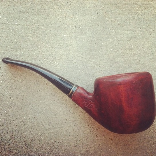 hand carved pipe