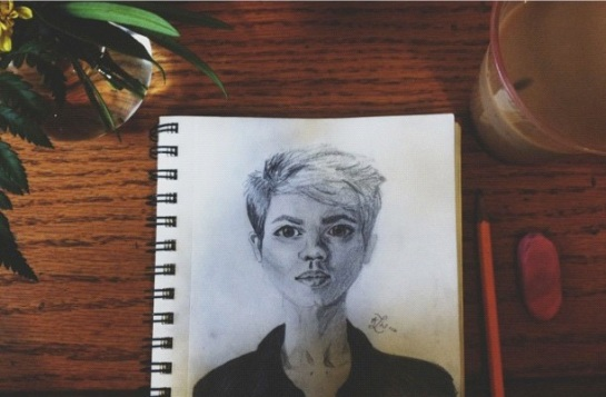 merethe hopland drawing